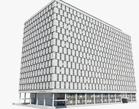 The Qube Building 3D city