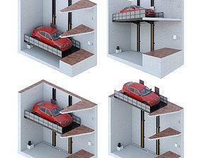 Car lift 5 3D