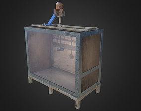 3D asset Test Tank For Turbine