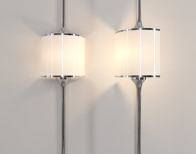 Sconce for bathrooms MONA by Elstead Lighting 3D model