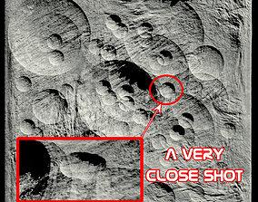 Moon surface 3D