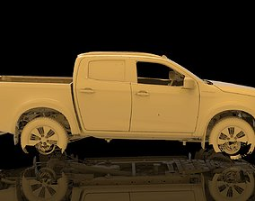Isuzu D-Max Double Cab Native Exterior 3D Scan