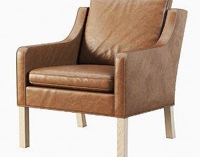 3D model Fredericia Mogensen 2207 armchair