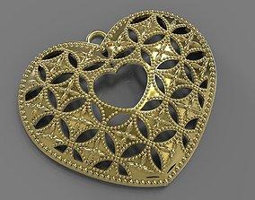 3D printable model valentine HEART PENDANT