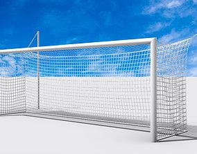 3D asset Soccer-Football Goal