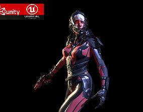 3D model Sci Fy Girl
