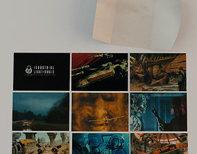 3D Industrial Light and Magic Postcards