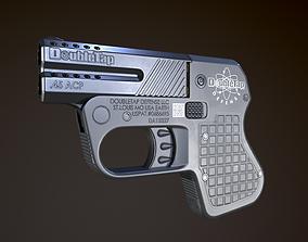 Heizer Defense Double Tap Derringer 45 acp 3D asset