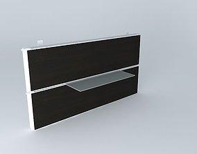 Framsta shelf 60cm 3D model