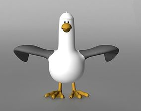 seagull RIGGED 3D