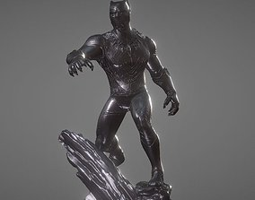 3D print model BLACK PANTHER INSPIRITED DIORAMA
