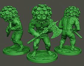 Humanoid virus 0006 3D printable model