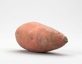 Photorealistic Sweet Potato 3D Scan