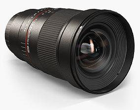 3D model Samyang 24mm f 1-4 ED AS IF UMC Lens for Sony E 1