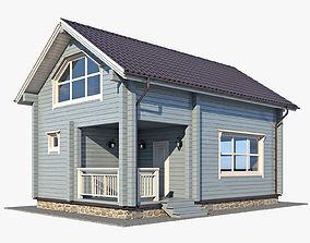 Log House 03 3D