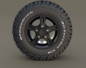 3D Offroad Alloy Wheel AT