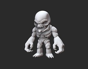 Hell Knight Doom Collectable Toy 3D Model STL File