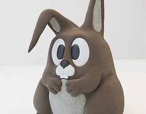 3D model Rabbit Toy - Mony Bunny