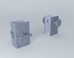 3D model Lock sets doorknobs