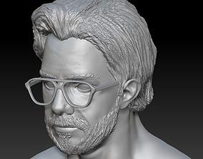 3D print model El Professor Head - La Casa Del Papel