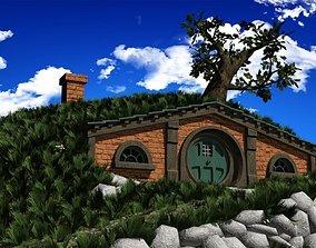 Hobbit house hobbit 3D model