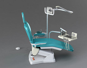 Dentist chair 3D rigged