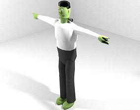 Horror Character - Frankenstien 3D model