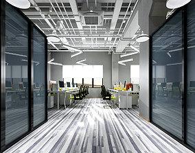 Office meeting room reception hall 57 3D model