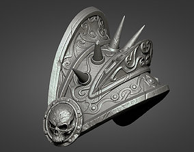 Lich King Armor - Left shoulder 3D print model