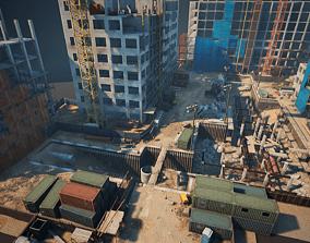 Construction Site 3D model