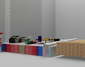 Interior Frame Construction Tool Set 3D model