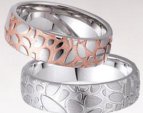3D printable model Wedding rings 170