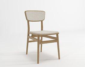Danish Dining Chair 3D model