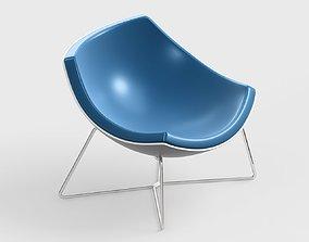 3D model armchair modern 84