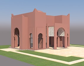 Traditional Moroccan House Marrakech 3D