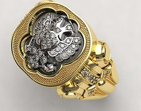 3D printable model Pomelnikov empire ring -