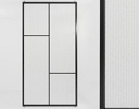 3D model Glass partition door 59