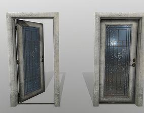 gateway door 2 3D asset VR / AR ready