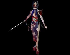 Asian 3D model