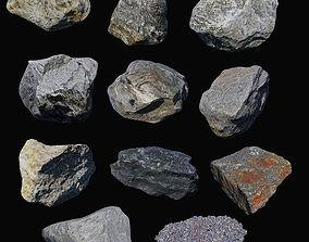 3D asset Rock Collection 01