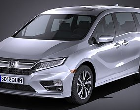 Honda Odyssey 2018 3D model
