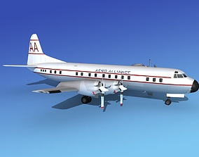 3D Lockheed L-188 Electra HP Aero Alliance
