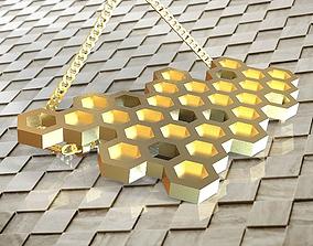 Honey pendant 2 3D print model