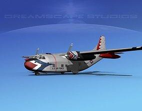 3D Fairchild C-123B Provider USAF Thunderbirds
