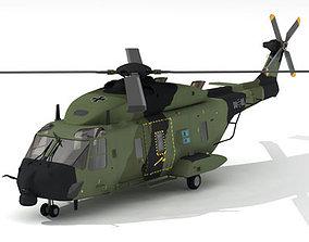 3D model NH90 German army