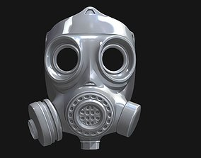 3D print model Biohazard Gas Mask headgear