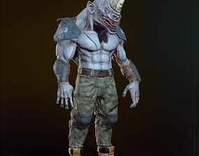 3D model Mad rhino