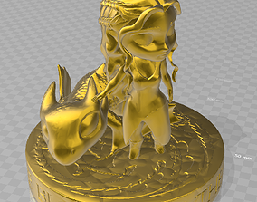3D printable model Daenerys and drogo chibi