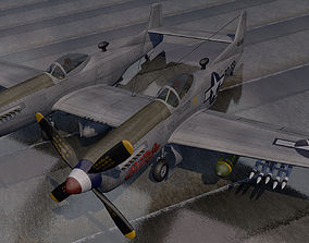 3D model North American P-82 Twin Mustang