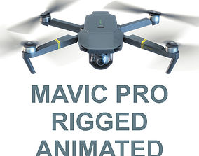 game-ready DJI Mavic Pro Drone 3d model vray realistic